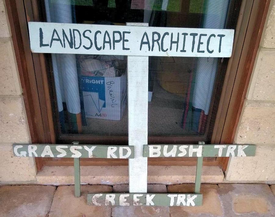 Landscape Architect Sign