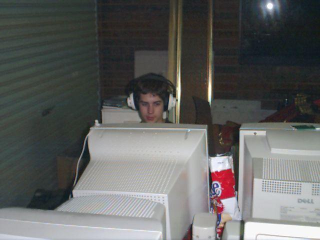 Me at a LAN party