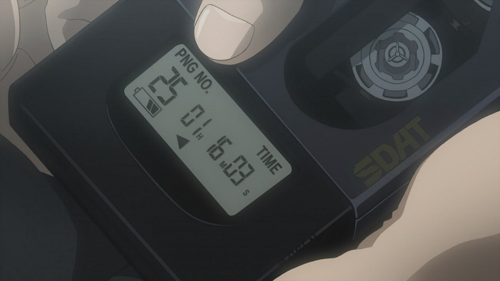 DAT player in Neon Genesis: Evangelion