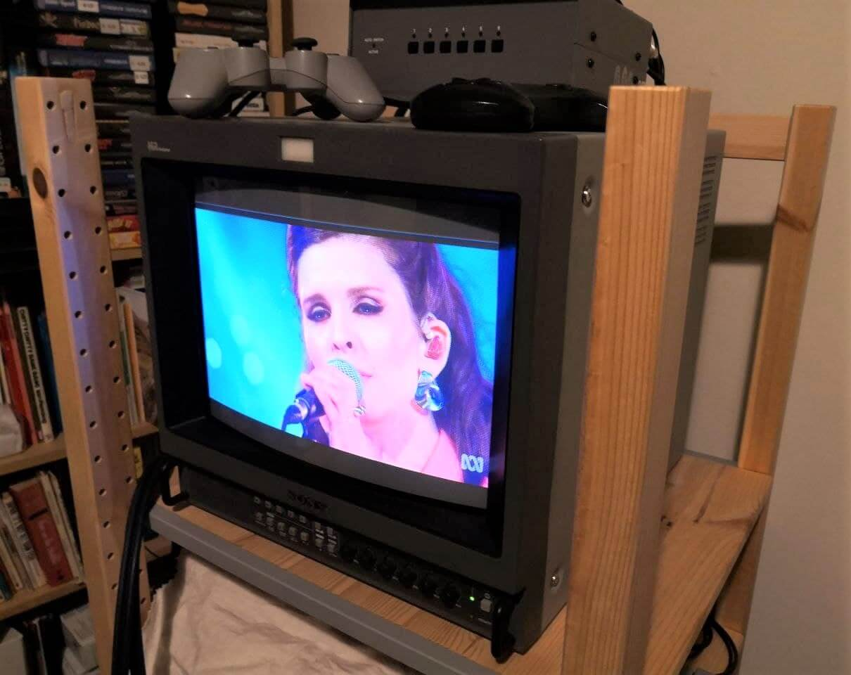 Feature Image for Turning a classic CRT into a Smart TV